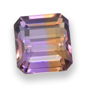 Buy 33.55 ct Bi-color Ametrine 17.83 mm x 18.7 mm from GemSelect (Product ID: 458163)
