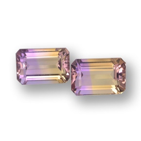 Buy 5.74 ct Bi-Color Ametrine 9.64 mm x 6.4 mm from GemSelect (Product ID: 459698)