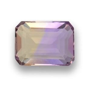2.6ct Octagon Step Cut Bi-Color Ametrine Gem (ID: 461831)