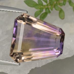 Bi-Color Ametrine Gem - 11.5ct Fancy Facet (ID: 470244)
