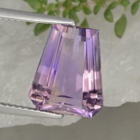 Bi-color Ametrine Gem - 5.3ct Fancy Facet (ID: 470246)