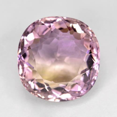 Bi-Color Ametrine Gem - 4.4ct Cushion-Cut (ID: 470328)