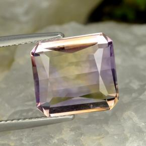 Bi-Color Ametrine Gem - 6.3ct Octagon / Scissor Cut (ID: 475835)