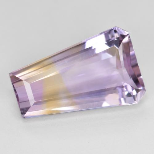 Bi-Color Ametrine Gem - 7.9ct Fancy Facet (ID: 476563)