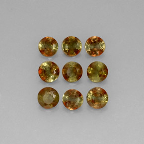 2.13 ct total Natural Multicolor Andalusite