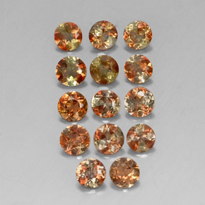 Buy 3.13 ct Brown Orange Andalusite 3.78 mm  from GemSelect (Product ID: 312904)