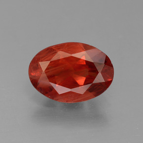 Buy 0.79 ct Honey Red Andesine Labradorite 8.13 mm x 5.8 mm from GemSelect (Product ID: 304054)