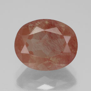 Medium Red Andesina Labradorita Gema - 3.6ct Forma ovalada (ID: 334787)