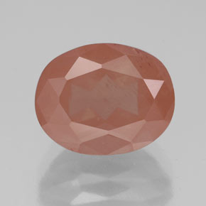 Medium Red Andesina Labradorita Gema - 3.2ct Forma ovalada (ID: 334789)
