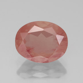 Medium Red Andesina Labradorita Gema - 2.6ct Forma ovalada (ID: 335889)