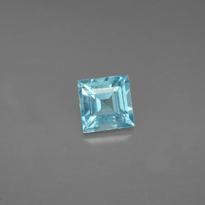 0.63 ct Natural Sea Blue Apatite
