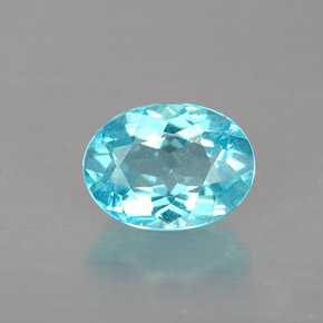 Buy 0.96ct Light Blue Apatite 7.11mm x 5.33mm from GemSelect (Product ID: 253067)