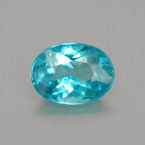 1.01 ct Natural Sea Blue Apatite
