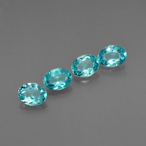 Buy 2.72 ct Light Blue Apatite 6.61 mm x 5 mm from GemSelect (Product ID: 303789)