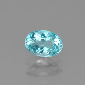 Buy 0.48 ct Light Blue Apatite 5.68 mm x 4 mm from GemSelect (Product ID: 319086)