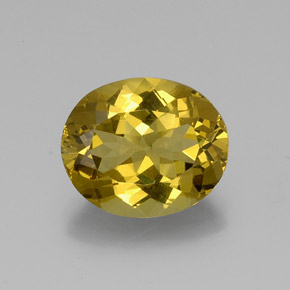 9.98 ct Ovale sfaccettato Oro Apatite Gem 15.81 mm x 13.2 mm (Photo A)