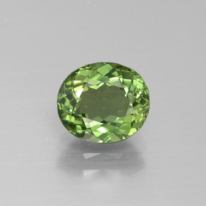 thumb image of 1.5ct Oval Facet Green Apatite (ID: 392646)