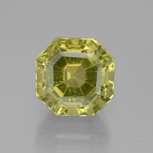 Medium Yellow Apatita Gema - 9.3ct Corte Asscher (ID: 395818)