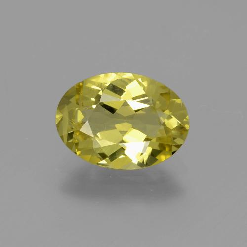 Medium Yellow Apatita Gema - 1.8ct Forma ovalada (ID: 398284)