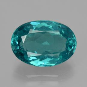 thumb image of 5.9ct Oval Facet Green Blue Apatite (ID: 405951)