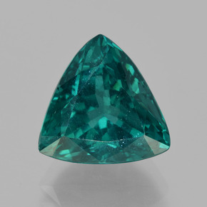 thumb image of 5.6ct Trillion Facet Blue Green Apatite (ID: 405956)