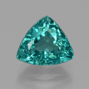 4 3 Carat Trillion 11 3x9 8mm 0 Blue Apatite Gemstone