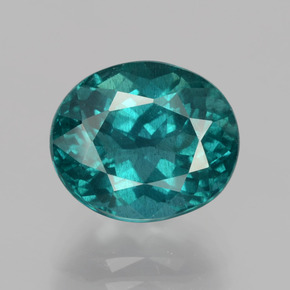 thumb image of 4.9ct Oval Facet Blue Green Apatite (ID: 405967)