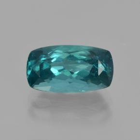 Blue Green Apatite Gem - 2.9ct Cushion-Cut (ID: 407120)