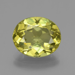 thumb image of 4.6ct Oval Facet Green Yellow Apatite (ID: 407745)