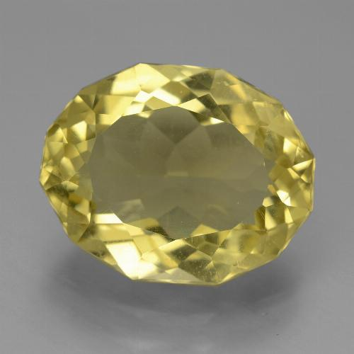 Light Golden-Yellow Apatita Gema - 7.8ct Elegante forma de óvalo (ID: 447312)