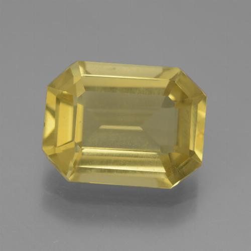 Light Golden-Yellow Apatita Gema - 4.8ct Corte octagonal (ID: 447319)