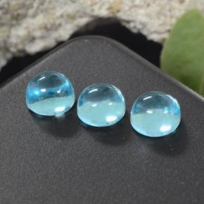 thumb image of 0.8ct Round Cabochon Green Blue Apatite (ID: 468276)