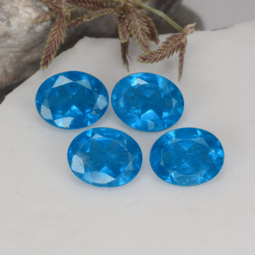 0.3ct Oval Facet Swiss Blue Apatite Gem (ID: 468628)