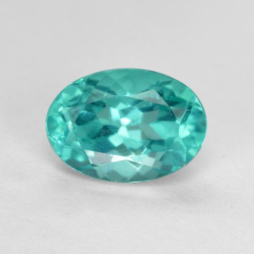 thumb image of 1ct Oval Facet Green Blue Apatite (ID: 476450)