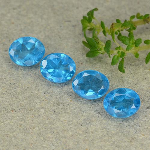 0.3ct Oval Facet Swiss Blue Apatite Gem (ID: 488764)