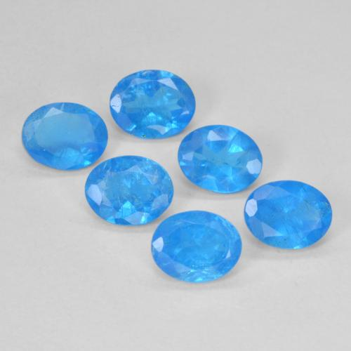 0.3ct Oval Facet Swiss Blue Apatite Gem (ID: 488784)
