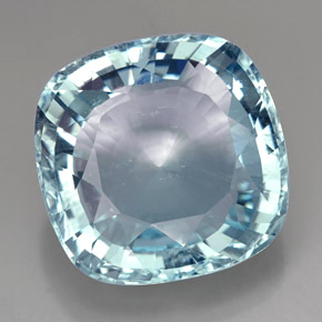 Buy 49.00 ct Light Blue Aquamarine 24.18 mm x 23.9 mm from GemSelect (Product ID: 225196)