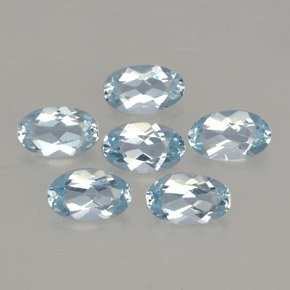 Buy 1.02 ct Light Blue Aquamarine 5.00 mm x 3.1 mm from GemSelect (Product ID: 245406)
