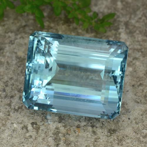 Buy 40.56 ct Light Blue Aquamarine 22.00 mm x 17.5 mm from GemSelect (Product ID: 264265)