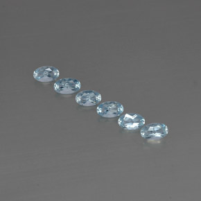 Buy 1.12 ct Light Blue Aquamarine 5.05 mm x 3.1 mm from GemSelect (Product ID: 295555)