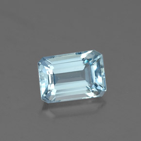Buy 0.96 ct Light Blue Aquamarine 6.96 mm x 4.9 mm from GemSelect (Product ID: 324238)