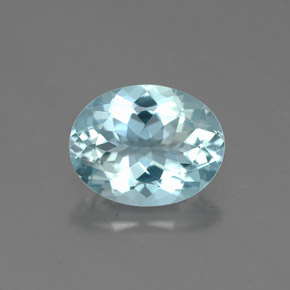 Buy 1.68 ct Light Blue Aquamarine 9.12 mm x 7.1 mm from GemSelect (Product ID: 324799)
