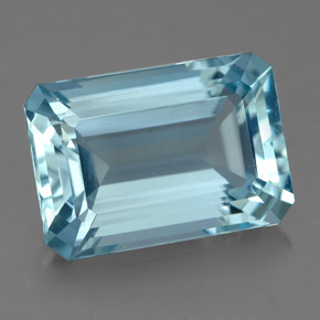 Buy 4.50 ct Light Blue Aquamarine 12.28 mm x 8.5 mm from GemSelect (Product ID: 325157)