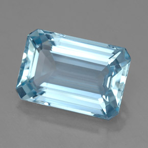 Buy 4.25 ct Light Blue Aquamarine 12.16 mm x 8.3 mm from GemSelect (Product ID: 325382)