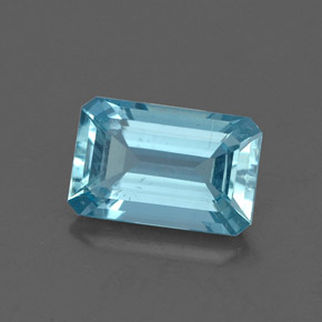 Buy 1.30 ct Light Blue Aquamarine 8.49 mm x 5.5 mm from GemSelect (Product ID: 326756)