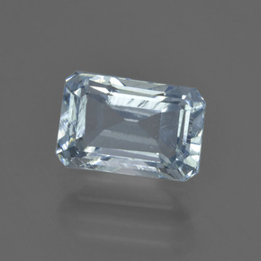 2.47 ct Octagon Facet Light Blue Aquamarine Gemstone 9.63 mm x 6.4 mm (Product ID: 408553)