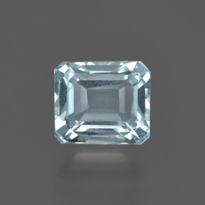 1.8ct Octagon Facet Sky Blue Aquamarine Gem (ID: 408762)