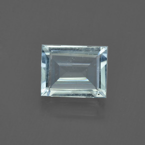 1.4ct Baguette Facet Light Aqua Blue Aquamarine Gem (ID: 408806)