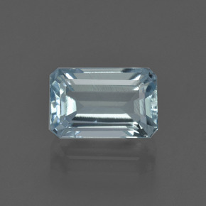 Light Blue Aquamarine Gem - 2.2ct Octagon Facet (ID: 408828)
