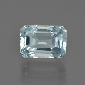 2.1ct Octagon Facet Sky Blue Aquamarine Gem (ID: 408842)